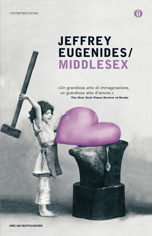 libroMiddlesex di Jeffrey Eugenides romanzo saga familiare storico vincitore del premio Pulitzer 2003