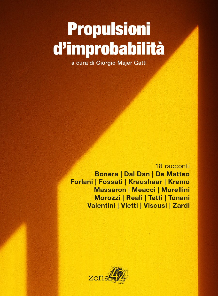 Proulsioni d'improbabilità raccolta di racconti di fantascienza italiana