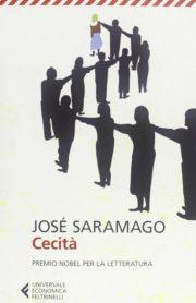 Percorso di lettura il genere distopico post apocalittico Cecità di Jose Saramago rassegna di romanzi distopici post-apocalittici