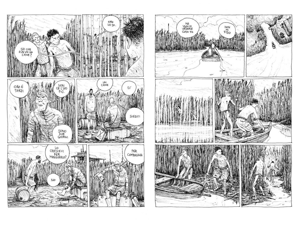 La terra dei figli di Gipi graphic novel