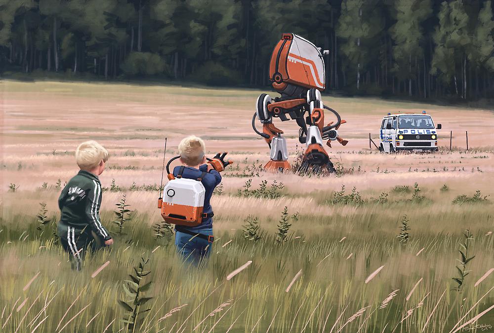 robot svedesi retrofuturismo anni 80