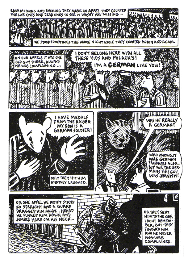 MAUS di Art Spiegelman graphic novel