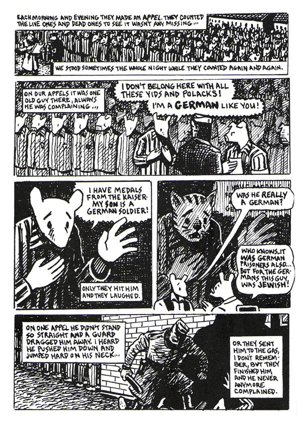 MAUS di Art Spiegelman graphic novel