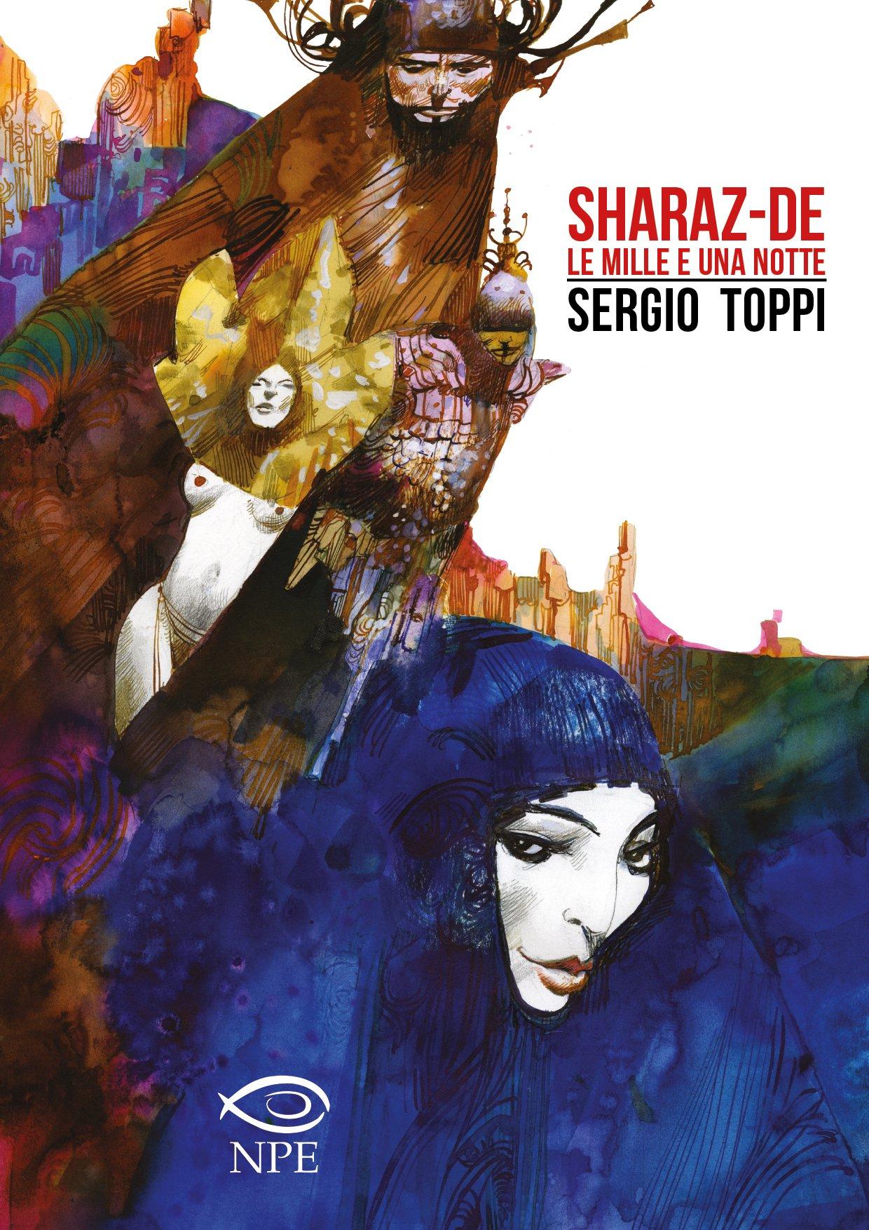 Sharaz-de. Le mille e una notte di Sergio Toppi graphic novel