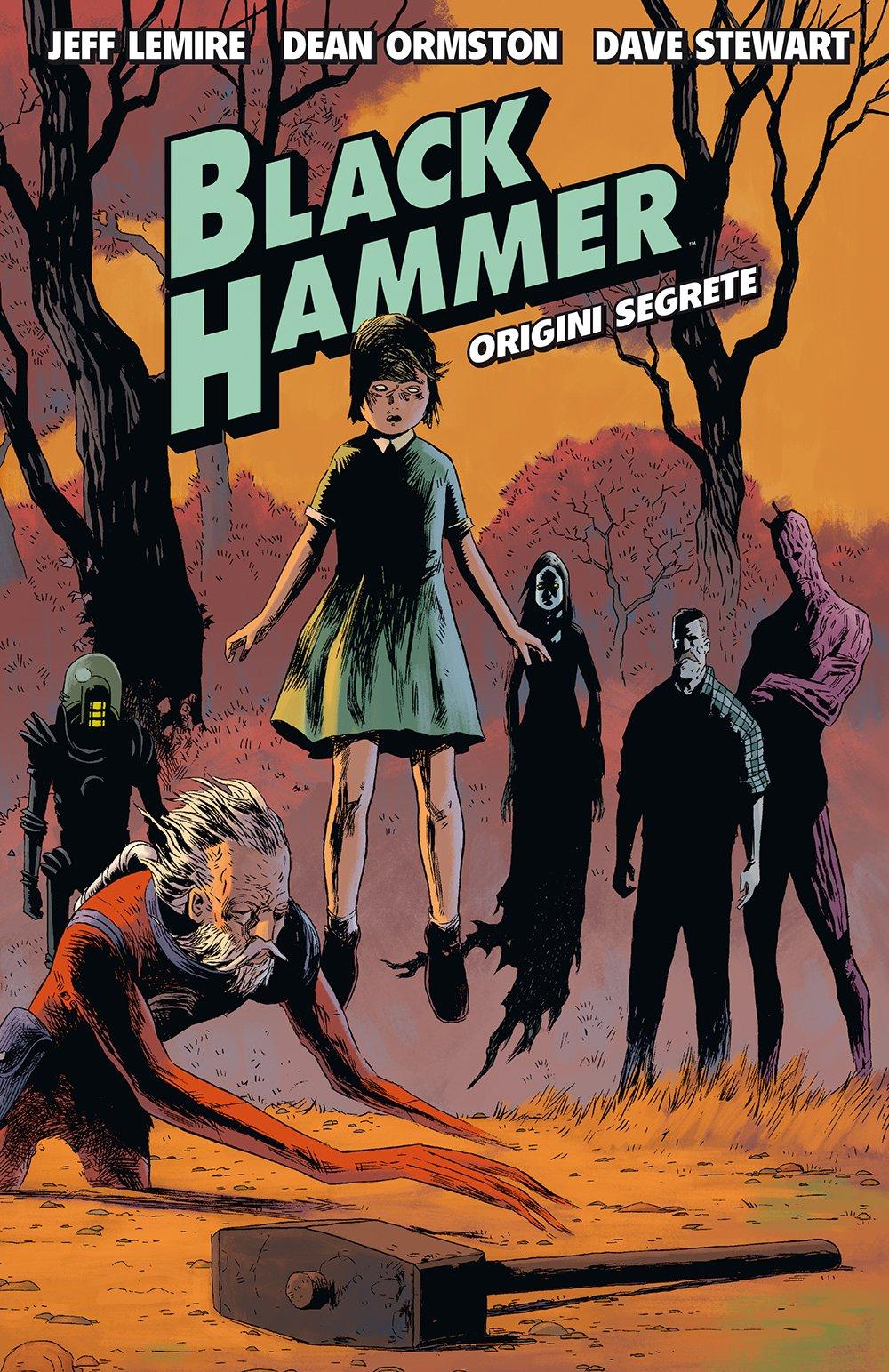 black hammer di Jeff Lemire Graphic Novel