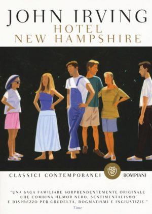 Romanzo famiglia americana Hotel New Hampshire di John Irving