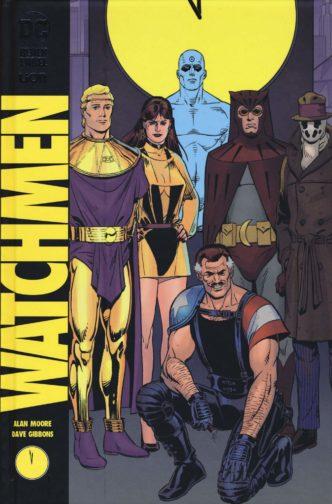 Watchmen di Alan moore e Dave Gibbons